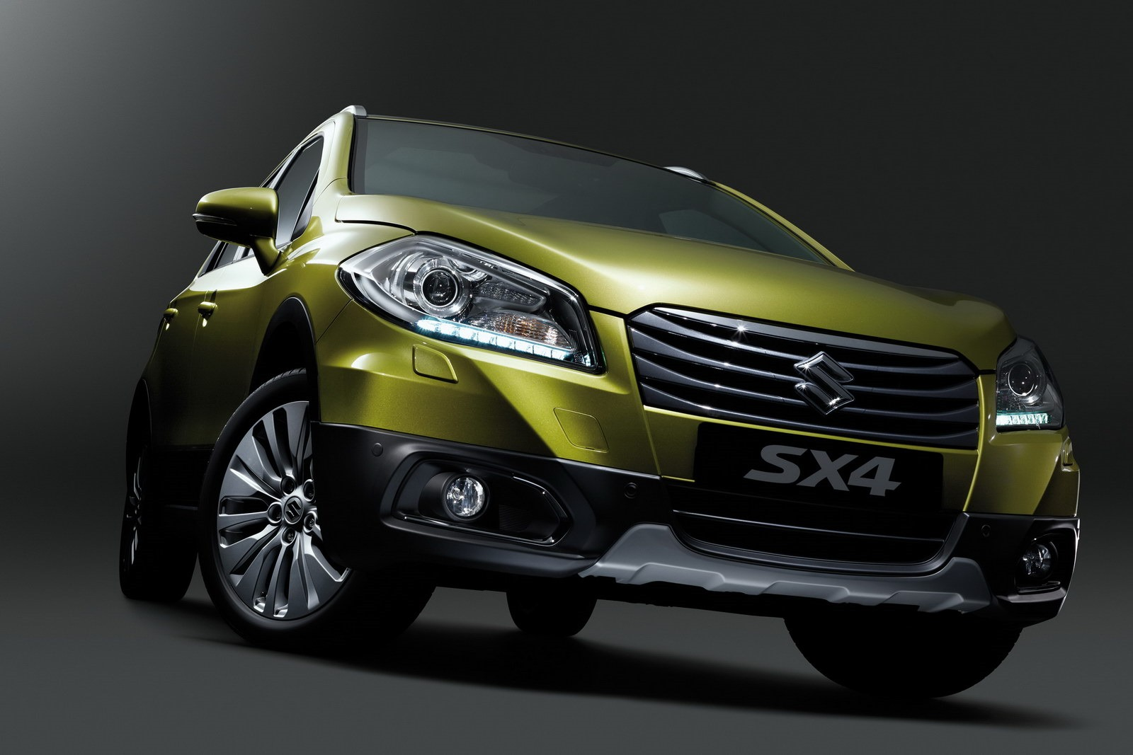 Suzuki has unveiled the new SX4 at the Geneva Show